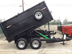 5x10x4 T/A Dump Trailer for Sale in March Air Reserve Base, CA