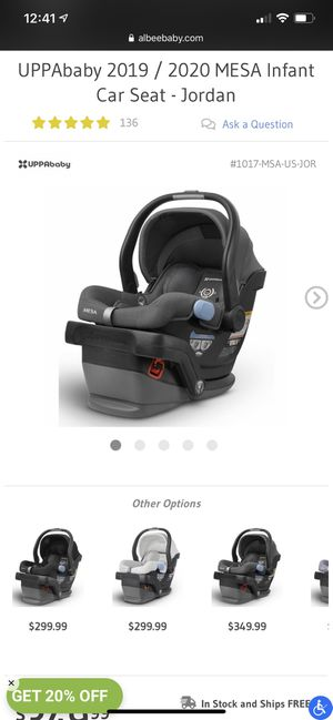 UPPAbaby Mesa Car Seat for Sale in Bassett, CA