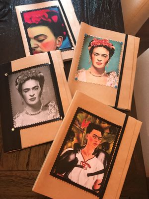Frida Khalo notebooks with pen. for Sale in Whittier, CA