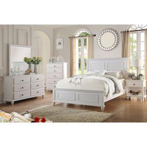 4-pcs queen bedroom set on sale only at elegant Furniture 🎈🛋🛏 for Sale in Fresno, CA