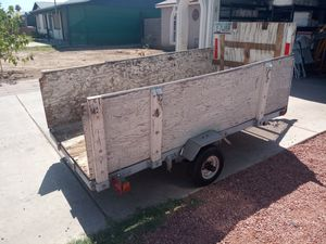 Small utility trailer 4 by 8 for Sale in Phoenix, AZ