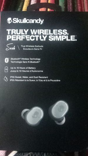 Skullcandy sesh wireless earbuds for Sale in Fresno, CA