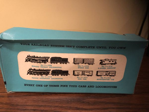 1950s Tyco Central Pacific Train