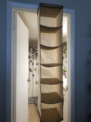Closet shelve organizer made of cloth for Sale in Pembroke Pines, FL