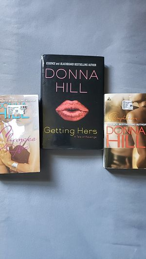 3 Eroctic Reads by Donna Hill for Sale in Manchester, CT