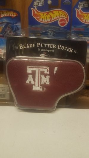 Texas A & M, Blade Putter Cover for Sale in Whittier, CA