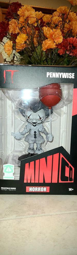 MiniCo Pennywise collectible action figure for Sale in Portland, OR