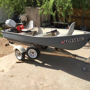Fishing Boat & Trailer for Sale in Apache Junction, AZ