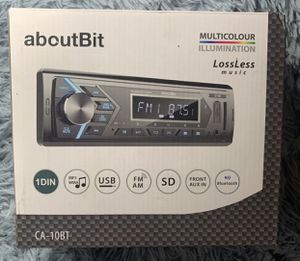 Bluetooth Car Stereo Radio Receiver,Single Din for Sale in Detroit, MI