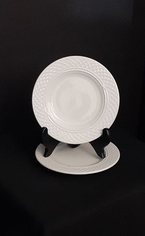 (2) Homer Laughlin Gothic Plates for Sale in Myrtle Beach, SC