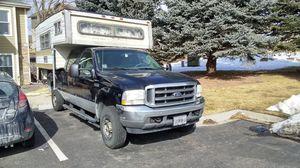 2004 Ford F250 Super Duty&Camper for Sale in Littleton, CO