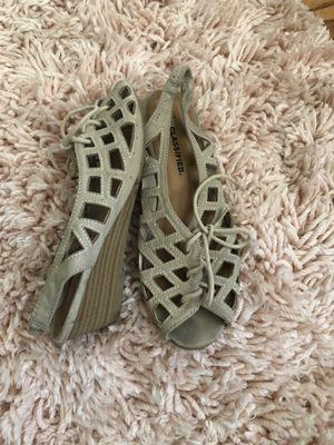 Women Beige sandals size 6 for Sale in Oakland, CA