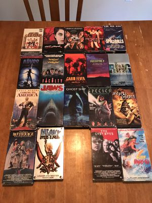 Horror vhs tapes for Sale in Phoenix, AZ