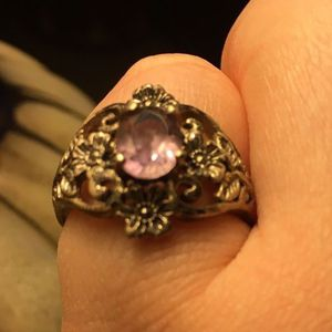 Sterling Silver And Amethyst Ring for Sale in Wood River, IL