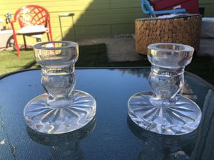 Waterford Crystal Candlestick Holders for Sale in Los Angeles, CA