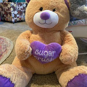 Sugar Crush Stuffed Bear for Sale in Scottsdale, AZ