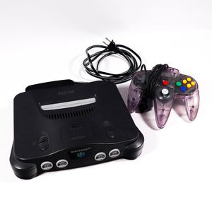 Nintendo 64 Video Game Console with Transparent Purple Controller - Missing AV Cable for Sale in Mesa, AZ