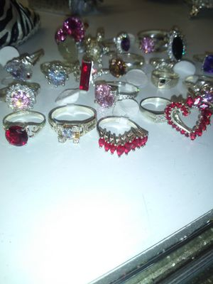 BIG SPECIAL buy a silver rings get a FREE pair of silver earings 100% silver for Sale in Bakersfield, CA