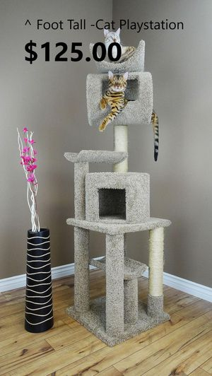 "6"" Cat trees/ cat stand triple perch/ cat house/ cat condos for Sale in Phoenix, AZ"