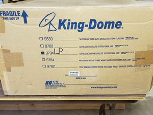 King dome auto tracking satellite dish for Sale in GARDEN CITY P, NY