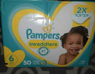 Pampers Diapers Size 6 for Sale in Damascus,  OR