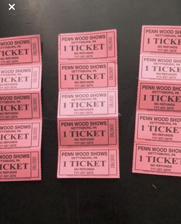 15 tickets to Greenbelt carnival for $10 LAST DAY!