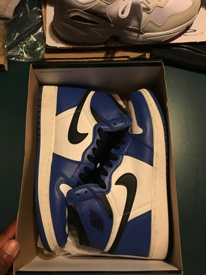 """Air Jordan 1 """"Game Royal"""" size 7y for Sale in Downers Grove, IL"""