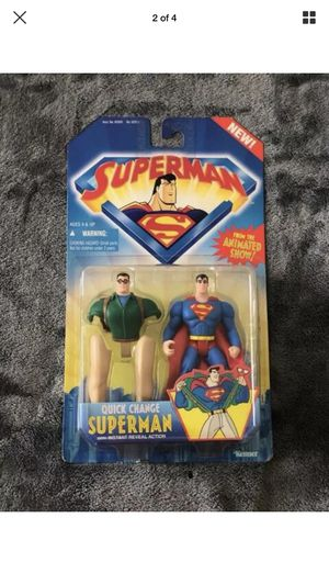 Quick Change Superman Action Figure Collection for Sale in Chelsea, MA