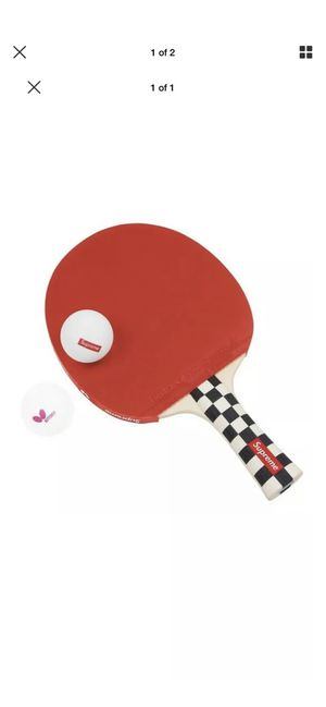 Supreme butterfly table ping pong racket for Sale in Miami, FL