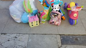 Free kids toys . Mostly girl toys for Sale in Los Angeles, CA