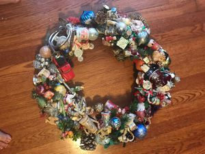 Artsy Holiday/Christmas Wreath for Sale in Houston, TX
