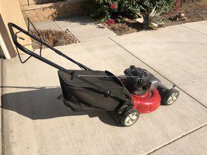 Yard Machines 21in. 140cc Gas Push Lawn Mower for Sale in Fontana, CA