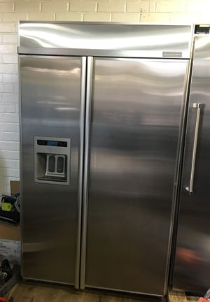 "Kitchen Aid 48"" Built In Fridge for Sale in Los Angeles, CA"