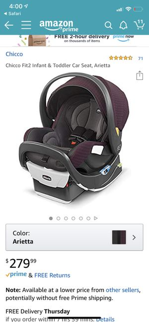 Chicco car seat for Sale in Fairfax, VA