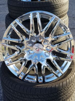 Rims & Tires cash/ finance $49 down 100 days cash price for Sale in Windermere, FL