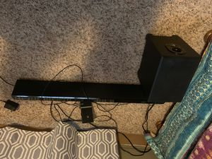 Soundbar and sub for Sale in Oshkosh, WI