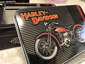 Harley Davidson Historical Playing Cards in Collectible Tin for Sale in Damascus, MD