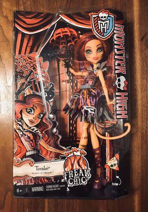 NIB (2014) Monster High Freak Du Chic, Toralei Doll for Sale in North Las Vegas, NV