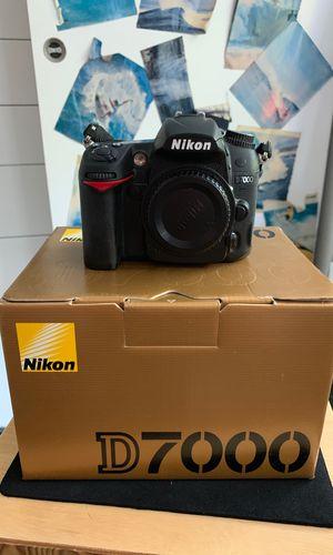 Nikon D7000 camera body for Sale in Santa Monica, CA