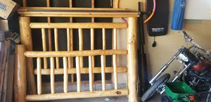 King size bed frame and box springs for Sale in Greeley, CO