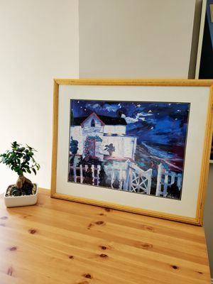 Beautiful starry night painting wall art for Sale in Washington, DC