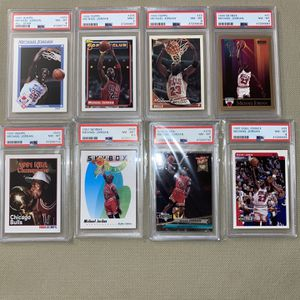 8 Michael Jordan PSA Graded Card Lot Bundle! for Sale in Fairfax, VA