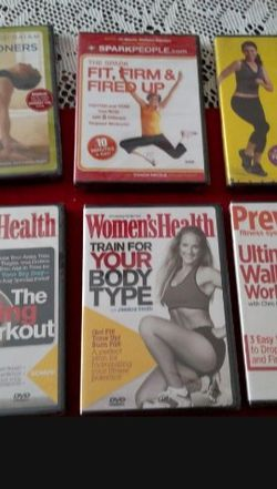 10 New Fitness DVDs for Sale in Fort Bliss,  TX