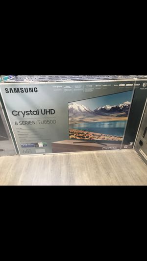 65 INCH SAMSUNG 4K CRYSTAL UHD/HDR SMART TV 📺 for Sale in Chino, CA