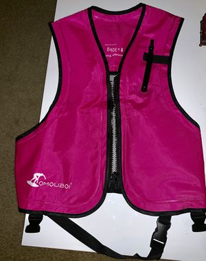 Life Jackets Snorkel Vest Inflatable Kayak Life Vest for Swimming Paddling Boating Adults for Sale in Redondo Beach, CA