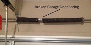 Broken Garage Door Spring for Sale in San Antonio, TX