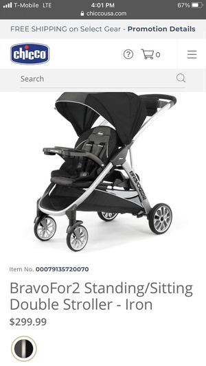 Chicco double stroller for Sale in Oceanside, CA