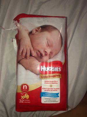 NB huggies for Sale in Visalia, CA