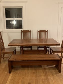 Kitchen Table Solid Wood for Sale in Seattle,  WA