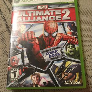 Ultimate Alliance 2 Xbox 360 for Sale in Reedley, CA